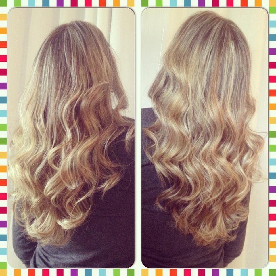 #Loira #Blond #Waves #LongHair cabelo cabeleireiro(a) stylist / visagista auxiliar administrativo