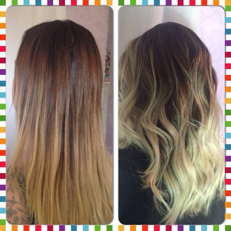 #Transformação #Loira #CabelosComSaúde cabelo cabeleireiro(a) stylist / visagista auxiliar administrativo