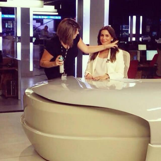 #Bastidores #JornalDaBand #Visagismo #Hair #Produção cabelo cabeleireiro(a) stylist / visagista auxiliar administrativo