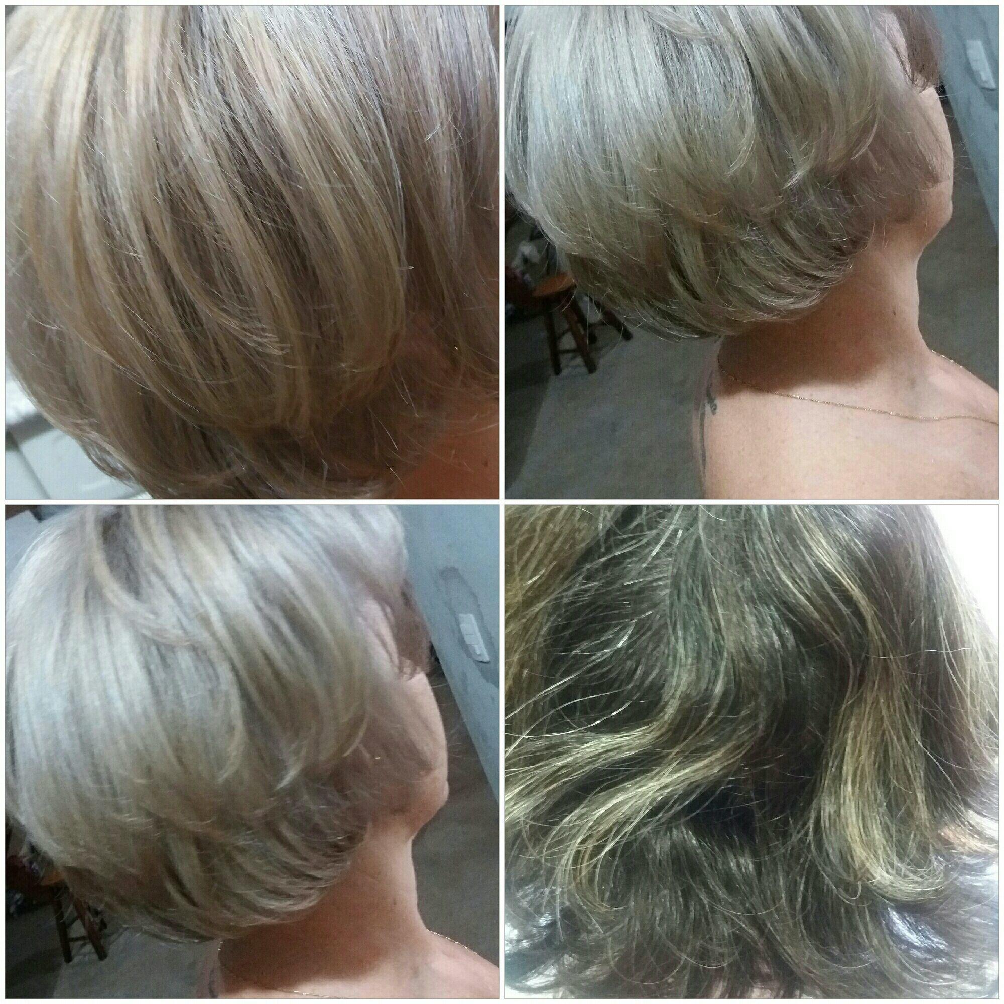 Descoloração global com 30 vol. Wella, depois finalizei com 898. cabelo cabeleireiro(a)