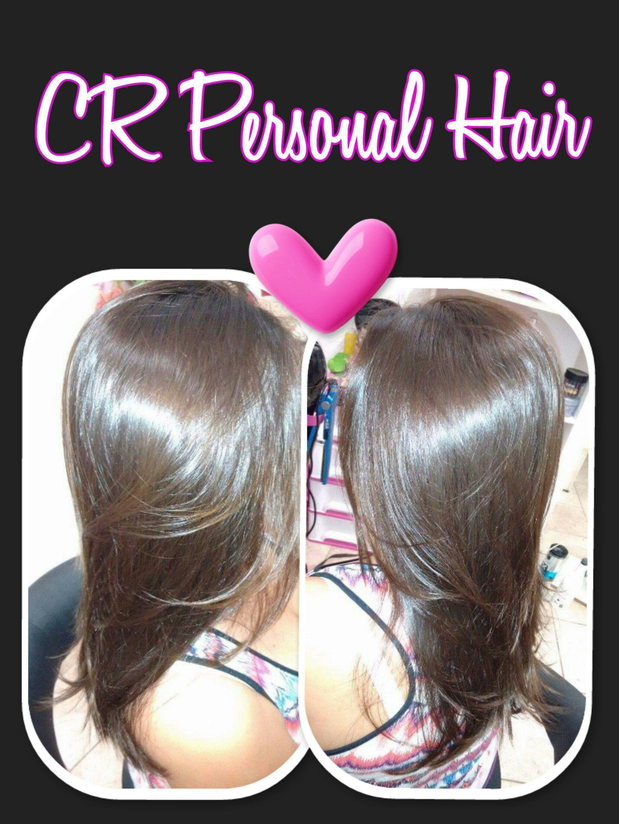 Corte + cauterização penetrait cabelo cabeleireiro(a)