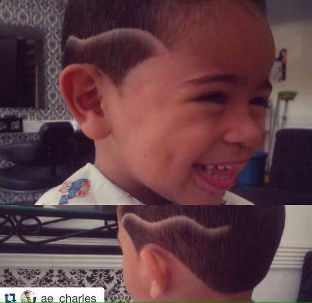 Alegrou o corte neste lindo menino ! cabelo