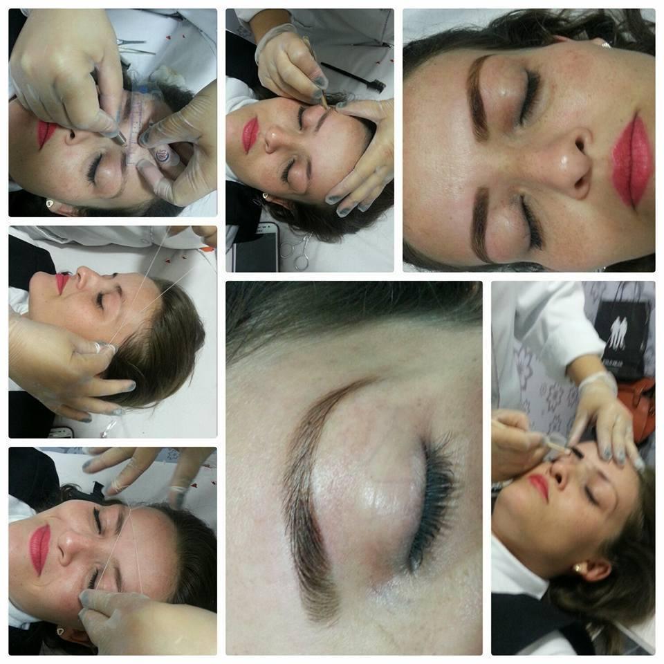 etapas de designer de sobrancelhas  estética micropigmentador(a) designer de sobrancelhas depilador(a)