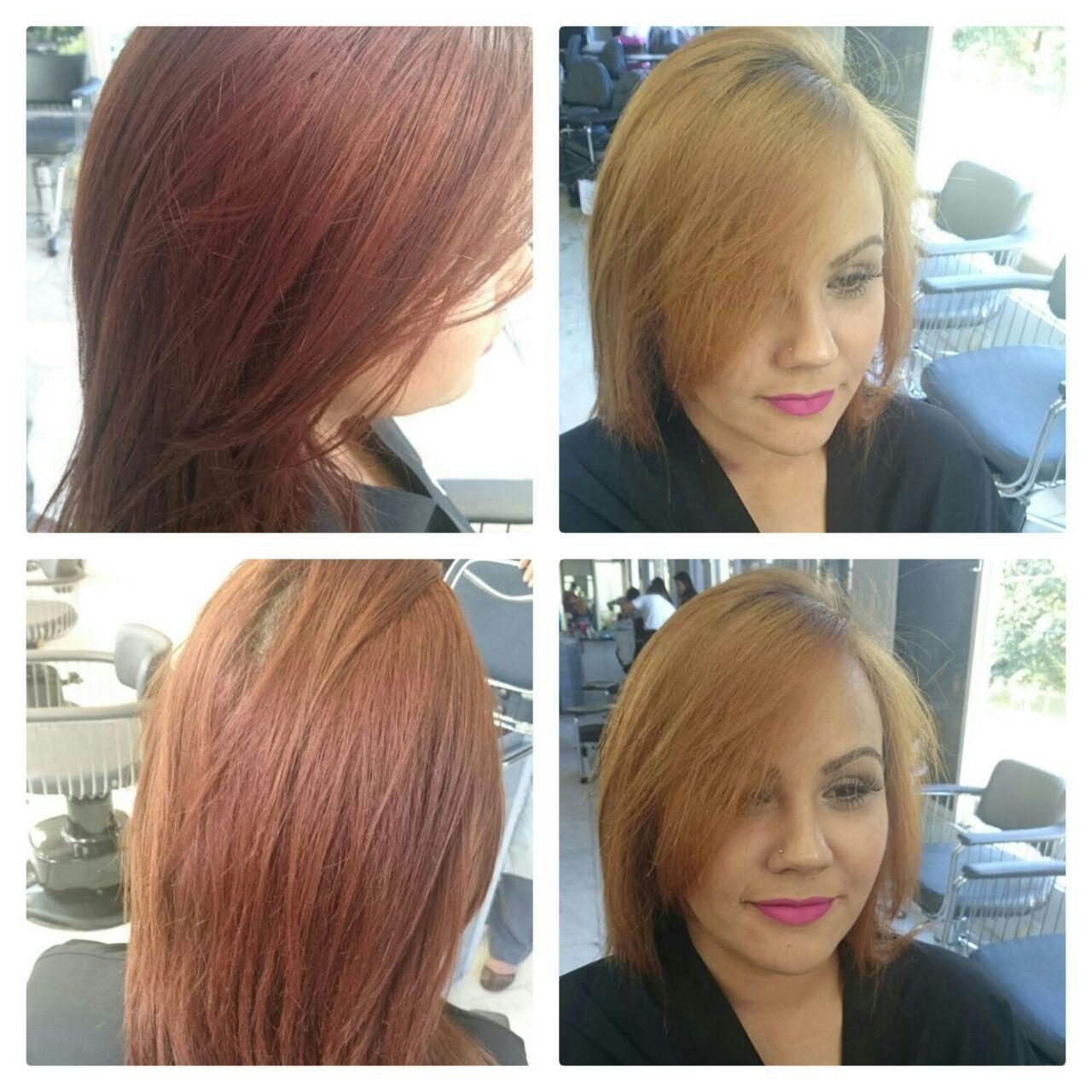 dia que fui fazer uma demostração no salão  Hélio diff cabelo docente / professor(a)