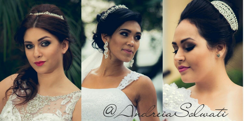 Noivas lindas @penteadosandreiasolsati cabelo cabeleireiro(a) depilador(a) manicure e pedicure