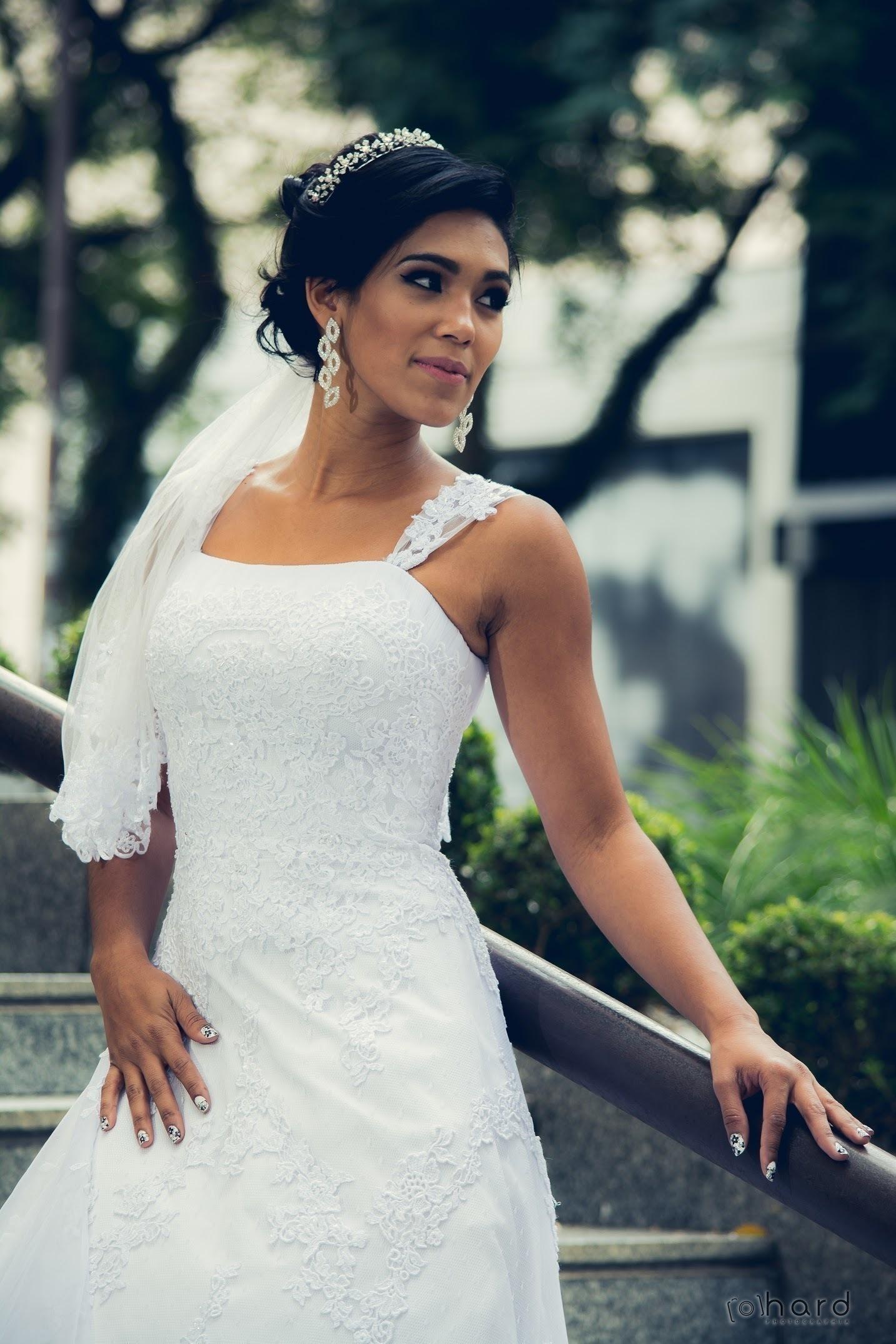 Noiva linda @andreiasolwati cabelo cabeleireiro(a) depilador(a) manicure e pedicure