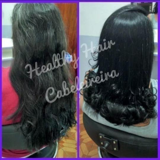 Coloração ,corte e escova. cabelo