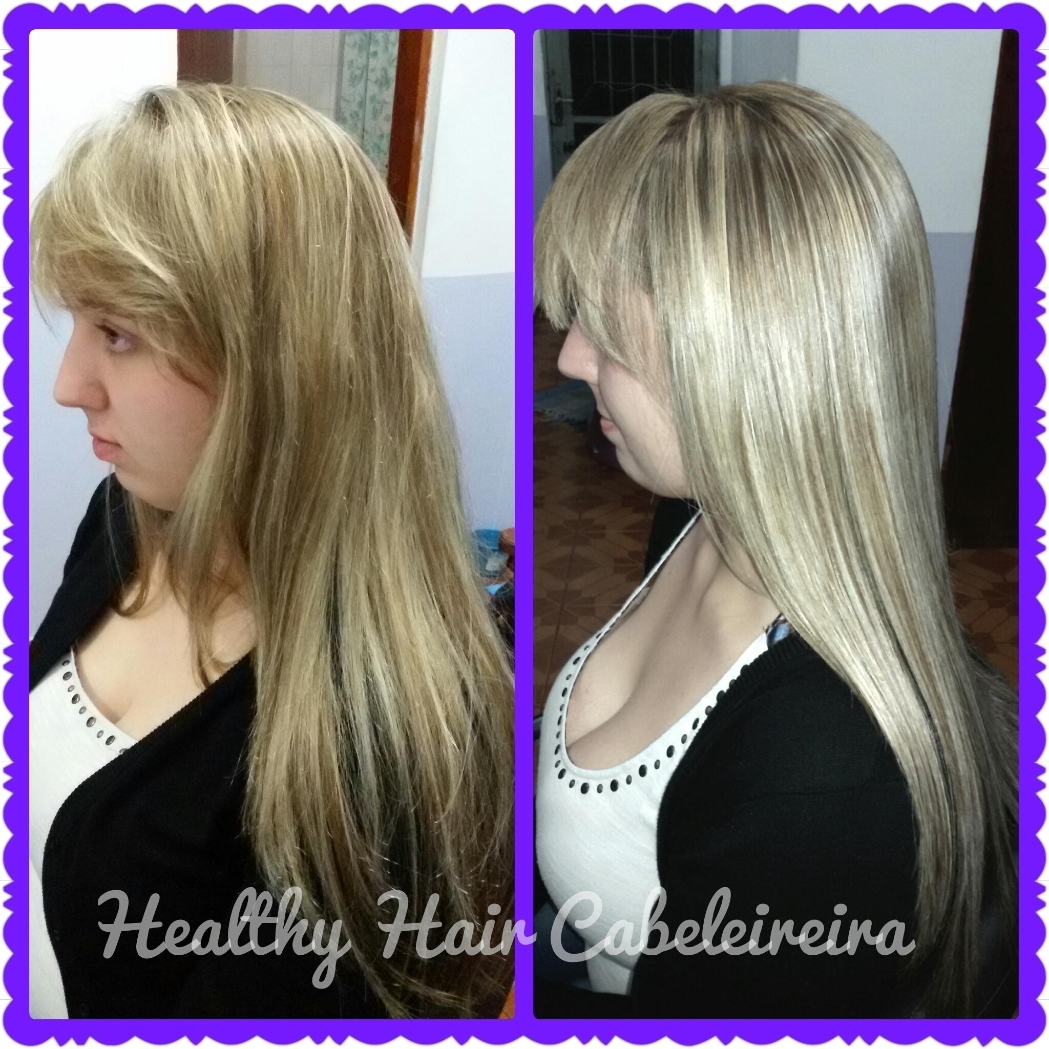 Progressiva Matizadora. cabelo