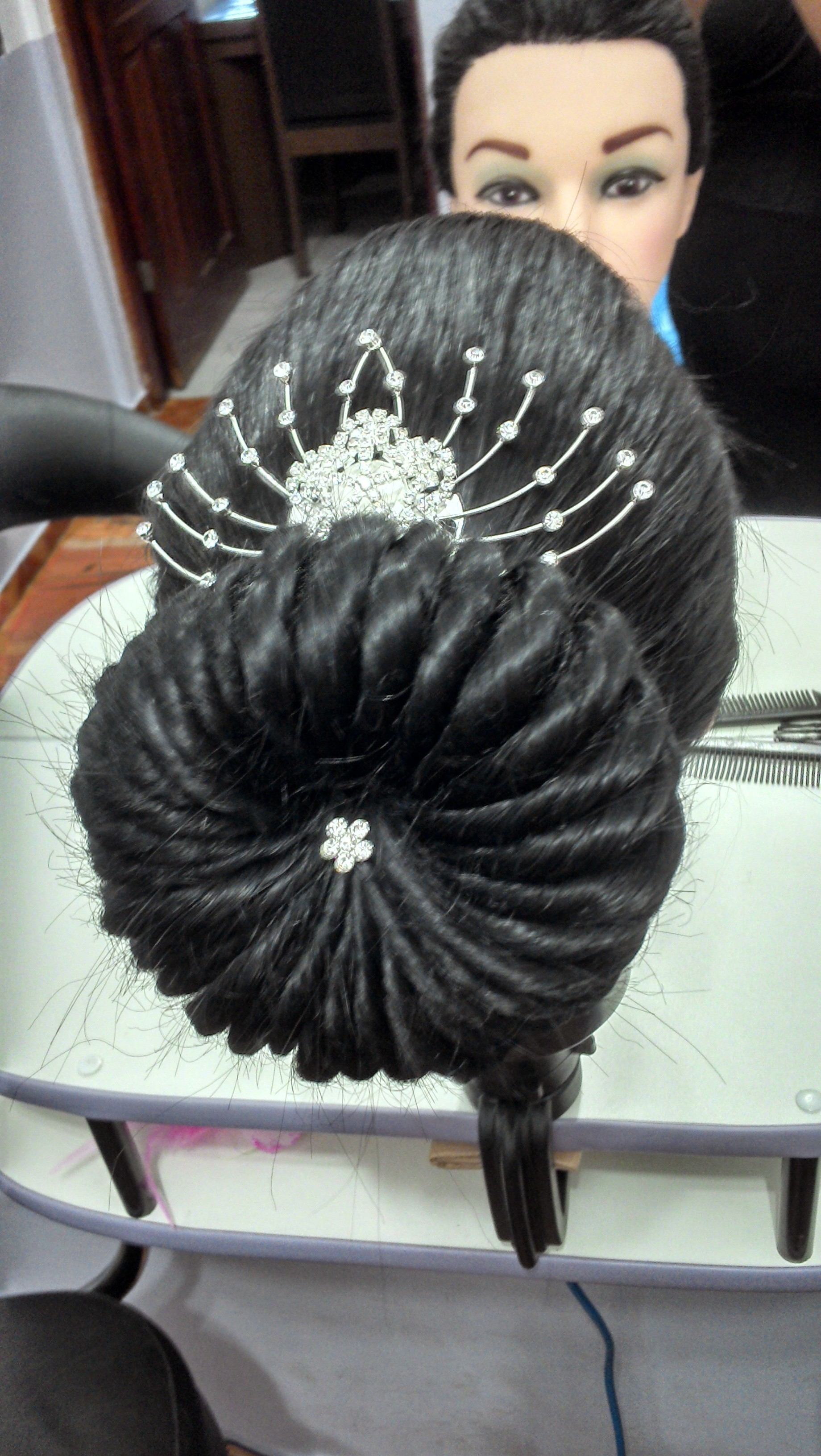 Penteado cabelo