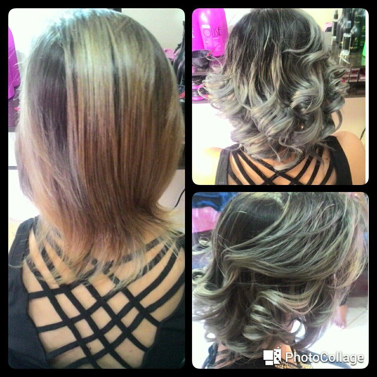 Antes e Depois..transformações cabelo cabeleireiro(a) manicure e pedicure