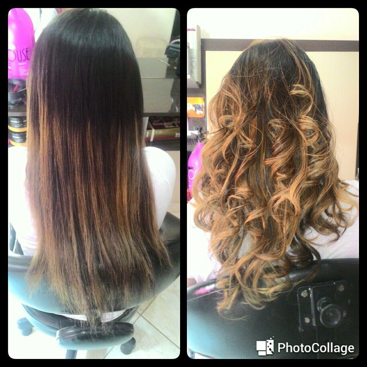 Ombre Hair caramelo.. cabelo cabeleireiro(a) manicure e pedicure