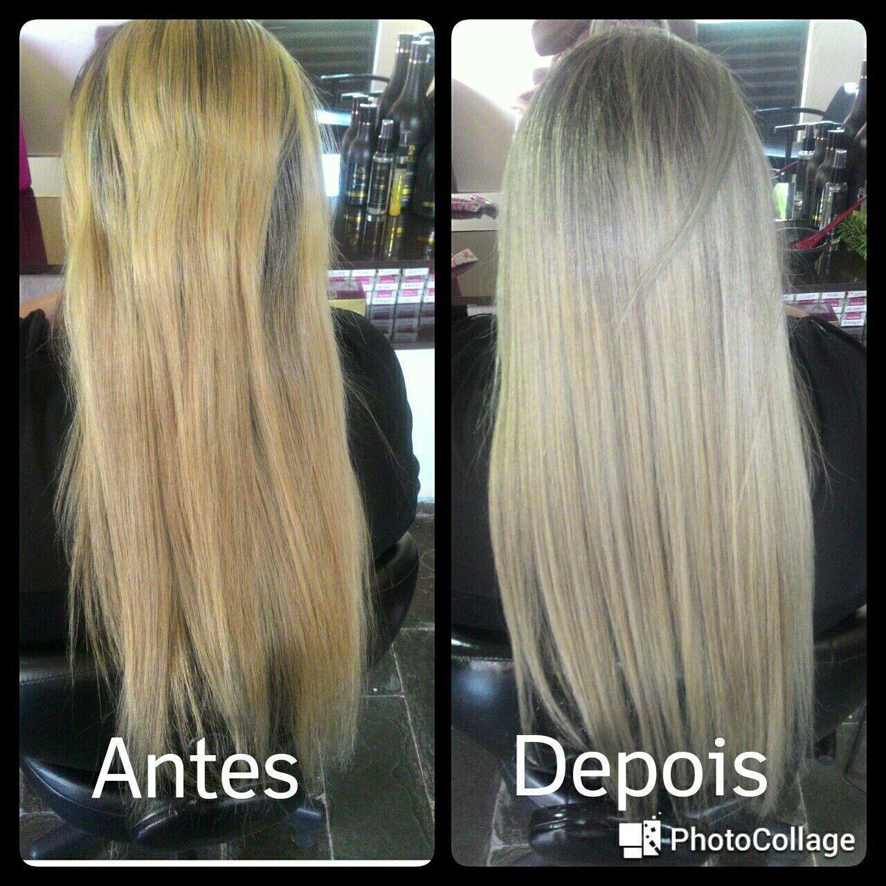 Correção de cor cabelo cabeleireiro(a) manicure e pedicure