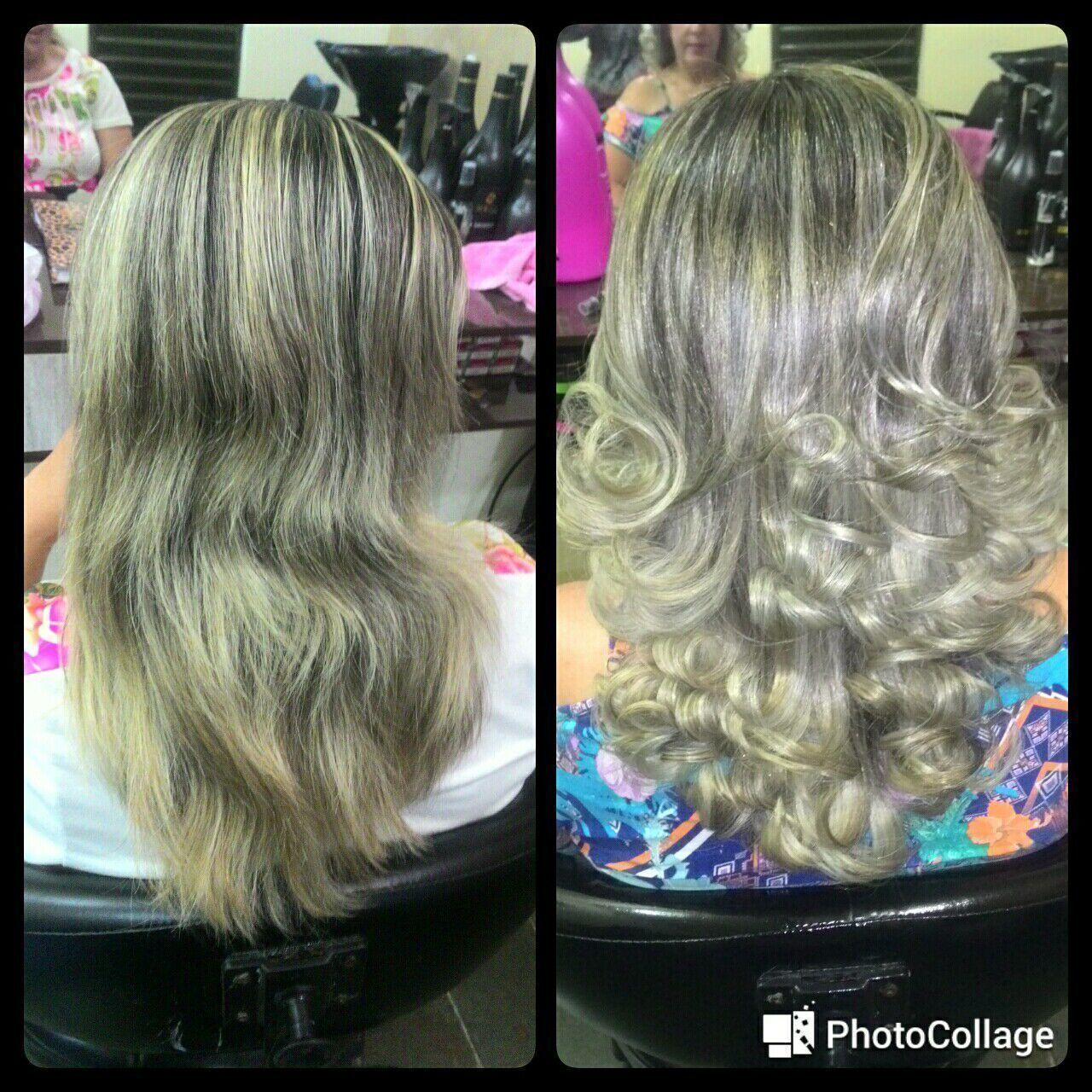 Retoque de raiz cabelo cabeleireiro(a) manicure e pedicure