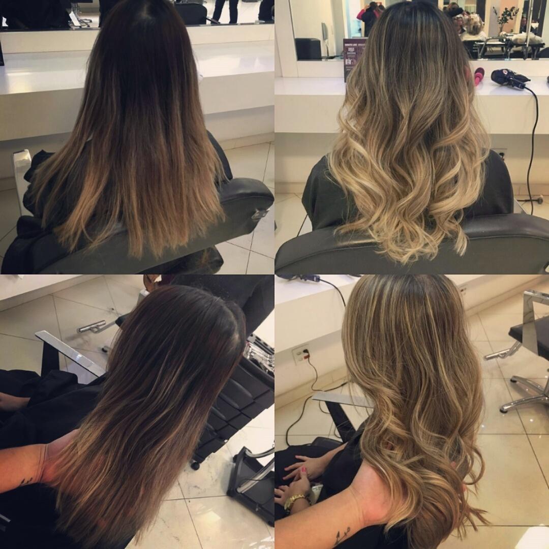 Ombre Hair, tendência de iluminação para o rosto, clareamento e leveza.. cabelo cabeleireiro(a)