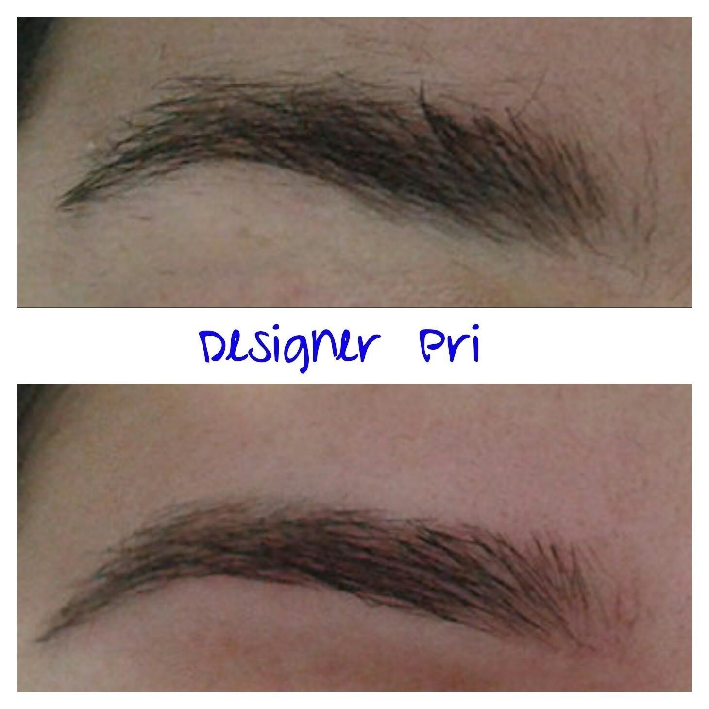 Corrigindo a sobrancelha e fazendo designer, mantendo a sobrancelha natural.  outros designer de sobrancelhas depilador(a)
