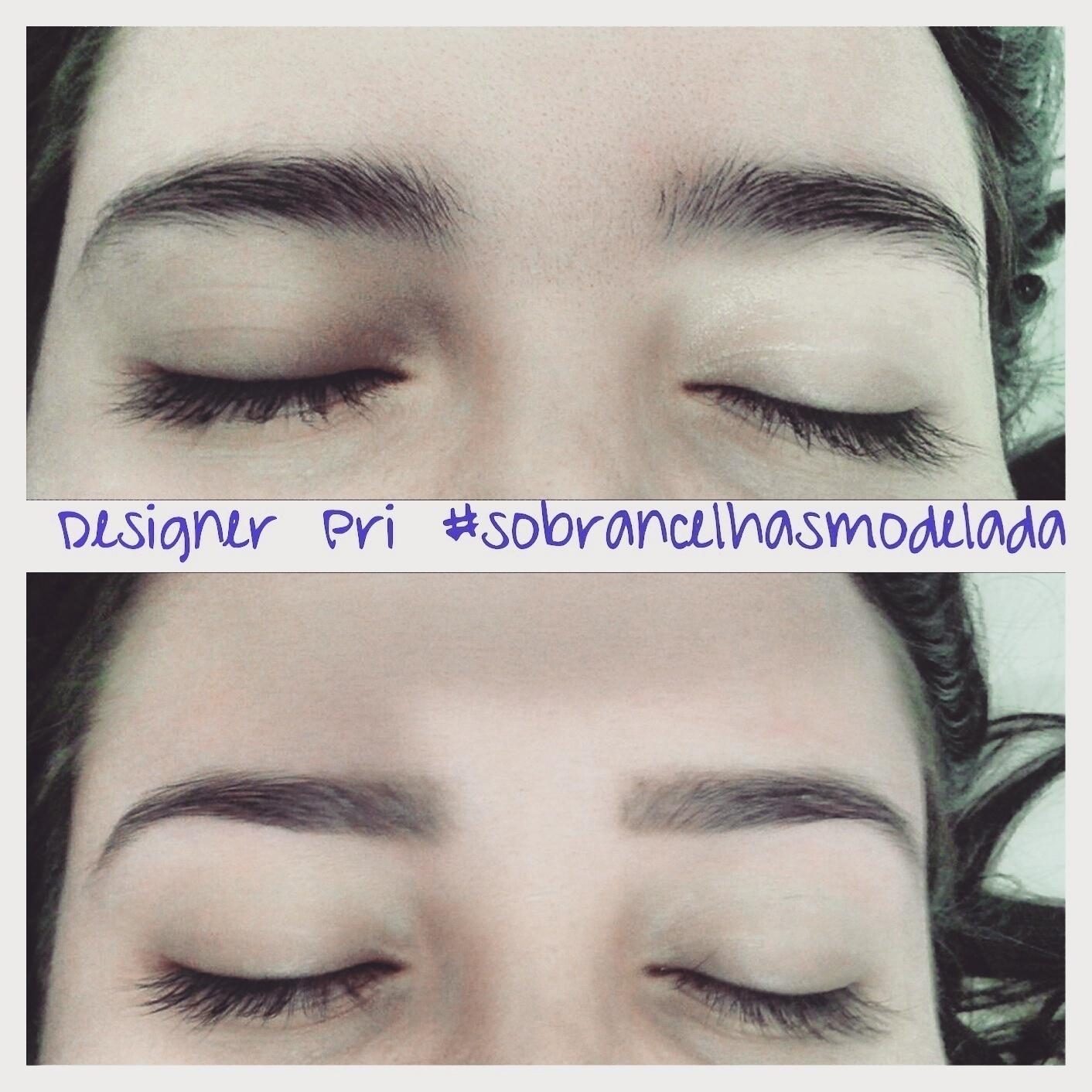 Sobrancelhas modeladas, mantendo o seu natural ! outros designer de sobrancelhas depilador(a)