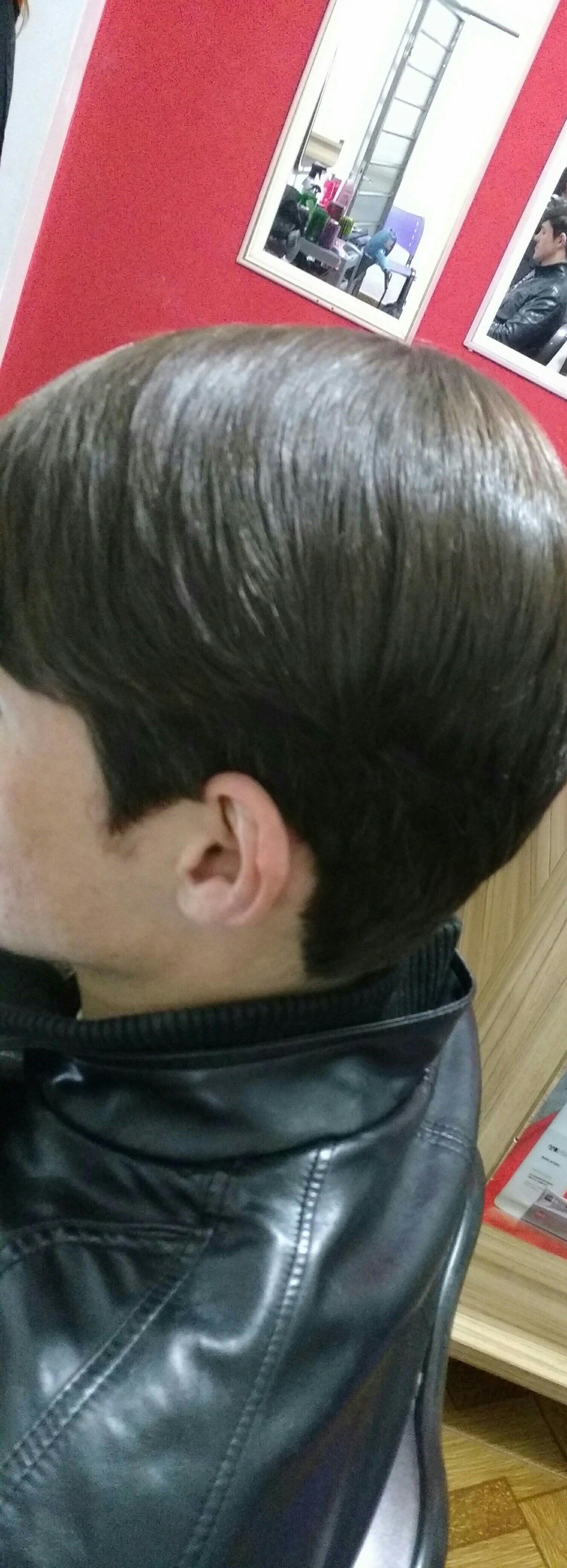 Corte e progressiva masculino cabelo cabeleireiro(a)