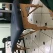 Maca BELTEX profissional, onde atendo meus clientes e mais atrás a cadeira Quick Massage.