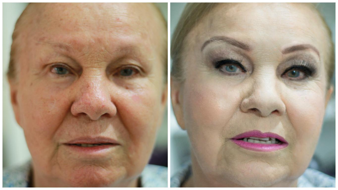 Uma bela transformação maquiagem maquiador(a) cabeleireiro(a)