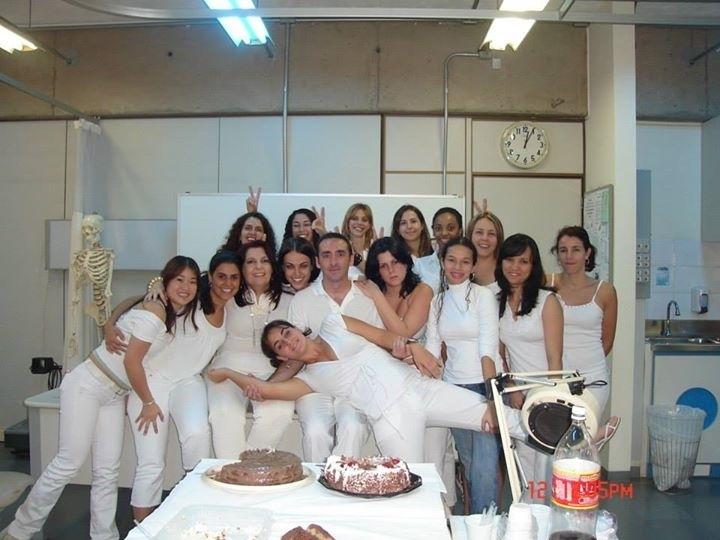 Turma estética facial Senac Tatuapé.Turma 2007! estética esteticista manicure e pedicure