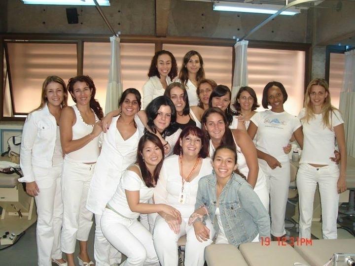 Turma estética corporal.Turma Senac 2007. estética esteticista manicure e pedicure