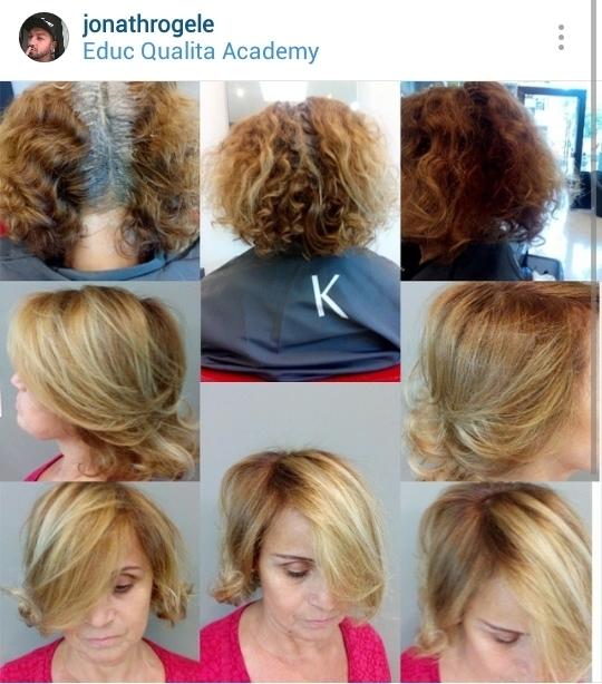Correção de cor, mechas e corte  Educ Qualita Academy cabelo cabeleireiro(a) maquiador(a)