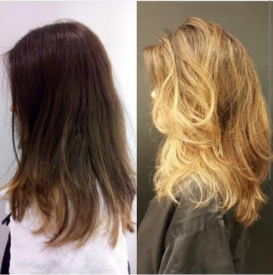 Criação da cor e técnica de mechas para iluminação frontal Em Celso Kamura Express- São Paulo cabelo cabeleireiro(a) maquiador(a)