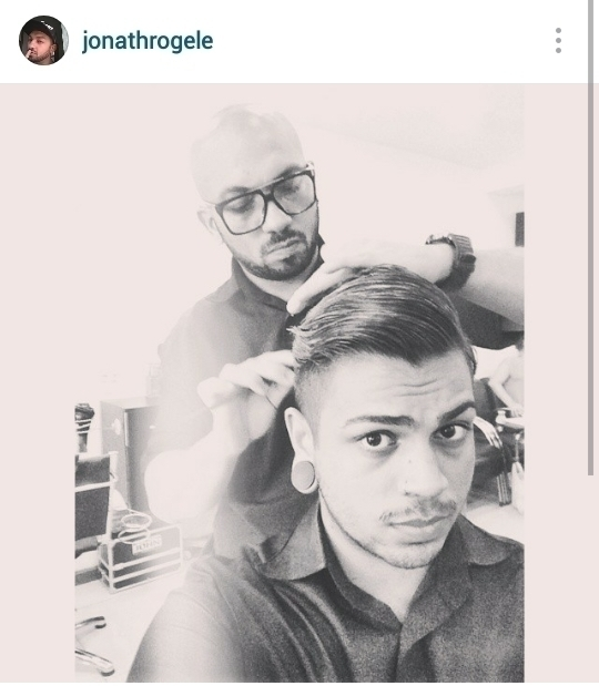 Corte masculino undercut cabelo cabeleireiro(a) maquiador(a)