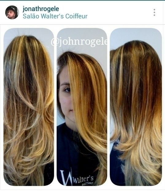 Mechas e corte cabelo cabeleireiro(a) maquiador(a)