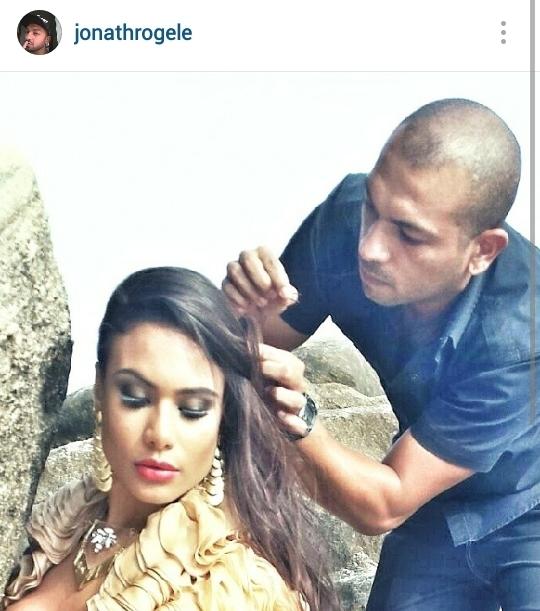 Produção para fotografia ao ar livre Make Up e Hair cabelo cabeleireiro(a) maquiador(a)