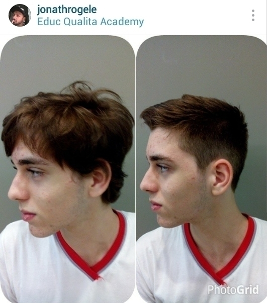Corte masculino tradicional cabelo cabeleireiro(a) maquiador(a)
