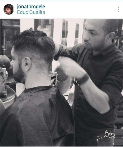 Corte masculino cabelo cabeleireiro(a) maquiador(a)