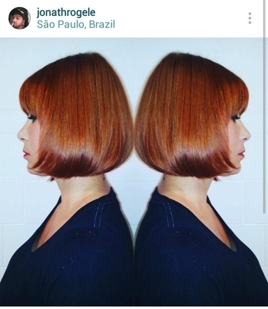 Cor e corte Chanel cabelo cabeleireiro(a) maquiador(a)