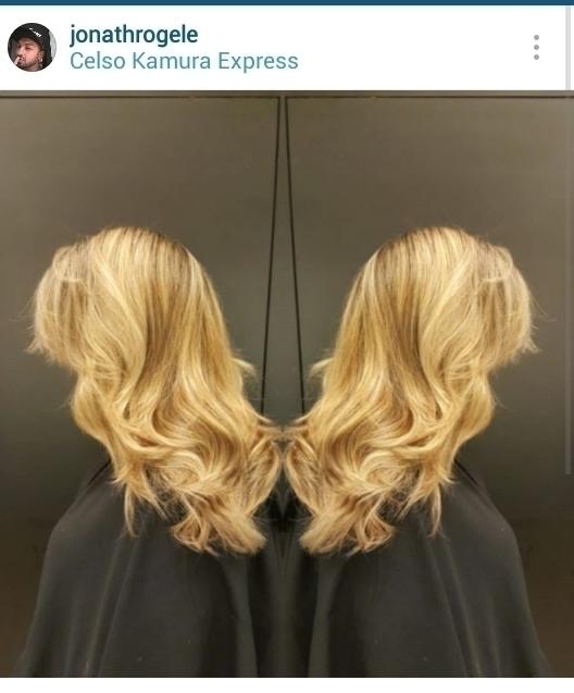 Especial blonde cabelo cabeleireiro(a) maquiador(a)