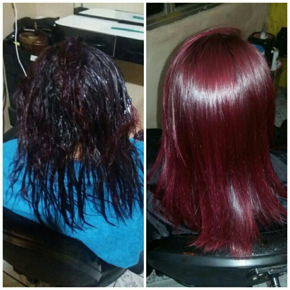 Lisoplastia mais uma cliente que se libertou do formol cabelo cabeleireiro(a)