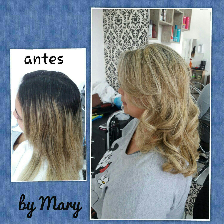 Retoque de luzes. cabelo cabeleireiro(a)