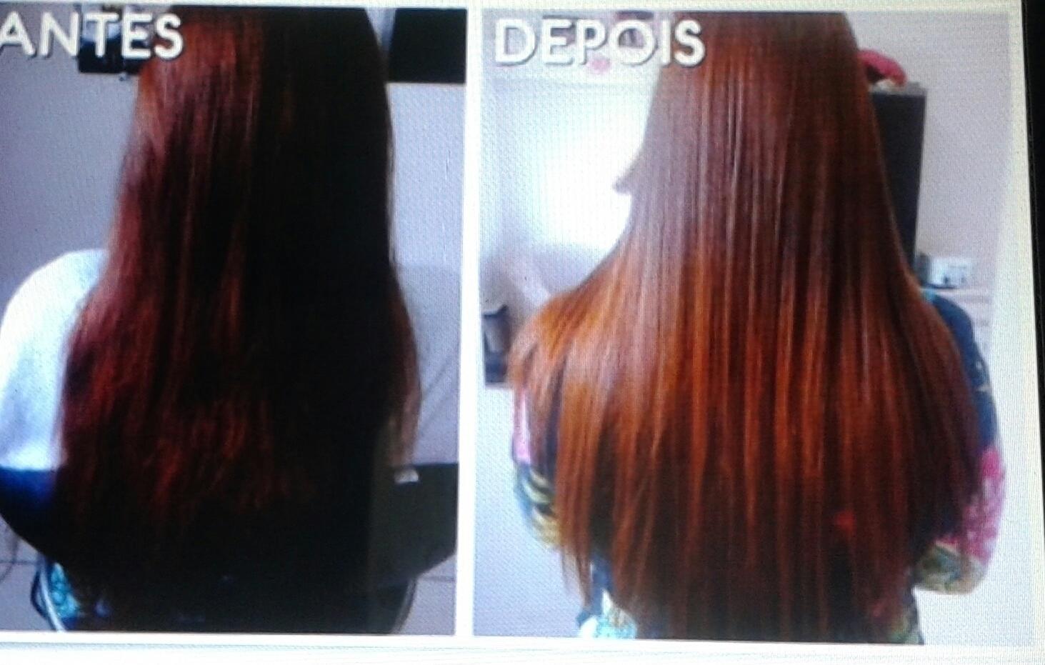 Escova botox cabelo