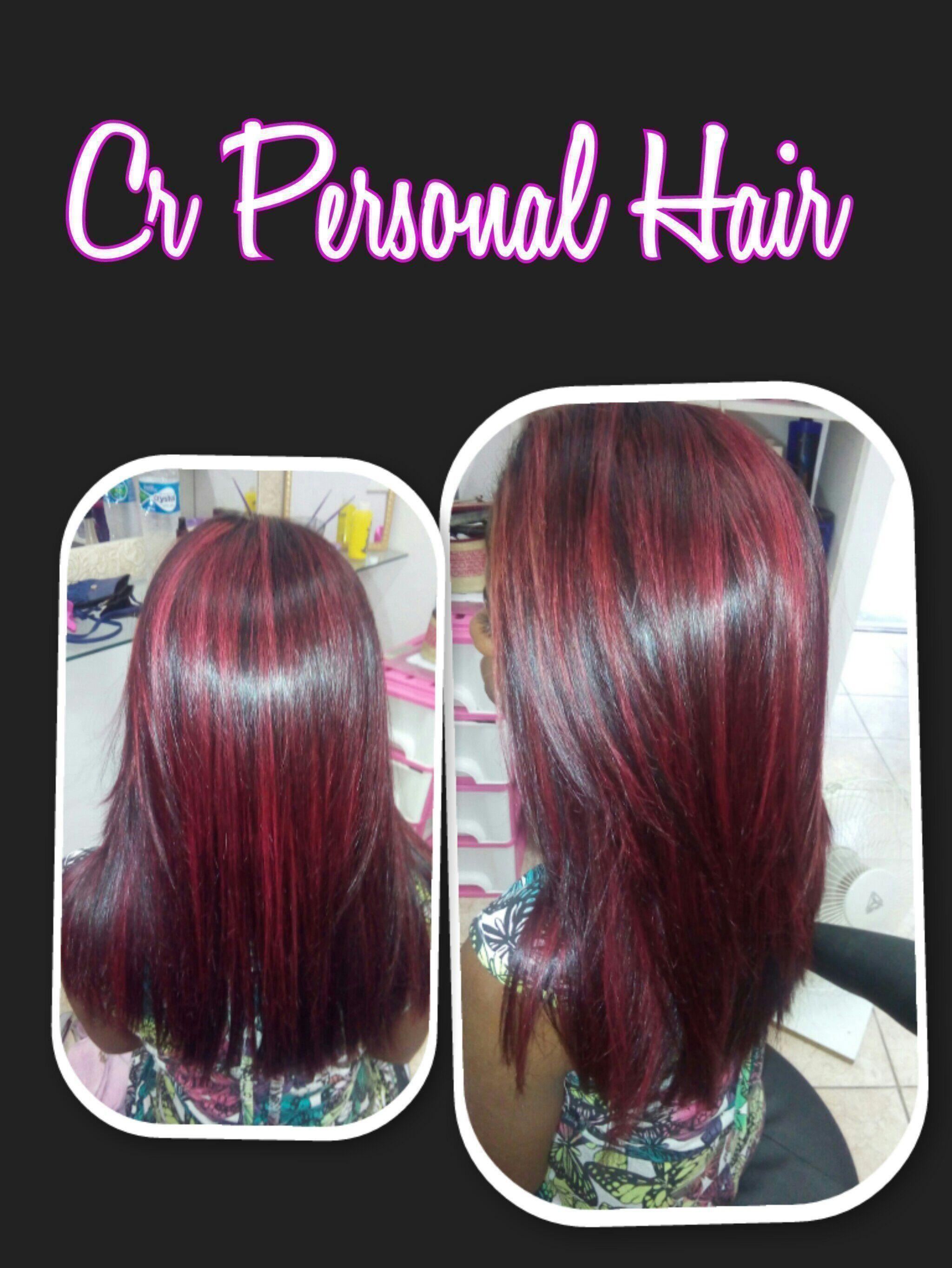 Mechas Red.... Ta esperando o que??? Agende logo o seu horário..  Carol Rodrigues (21)986037815 cabelo cabeleireiro(a)