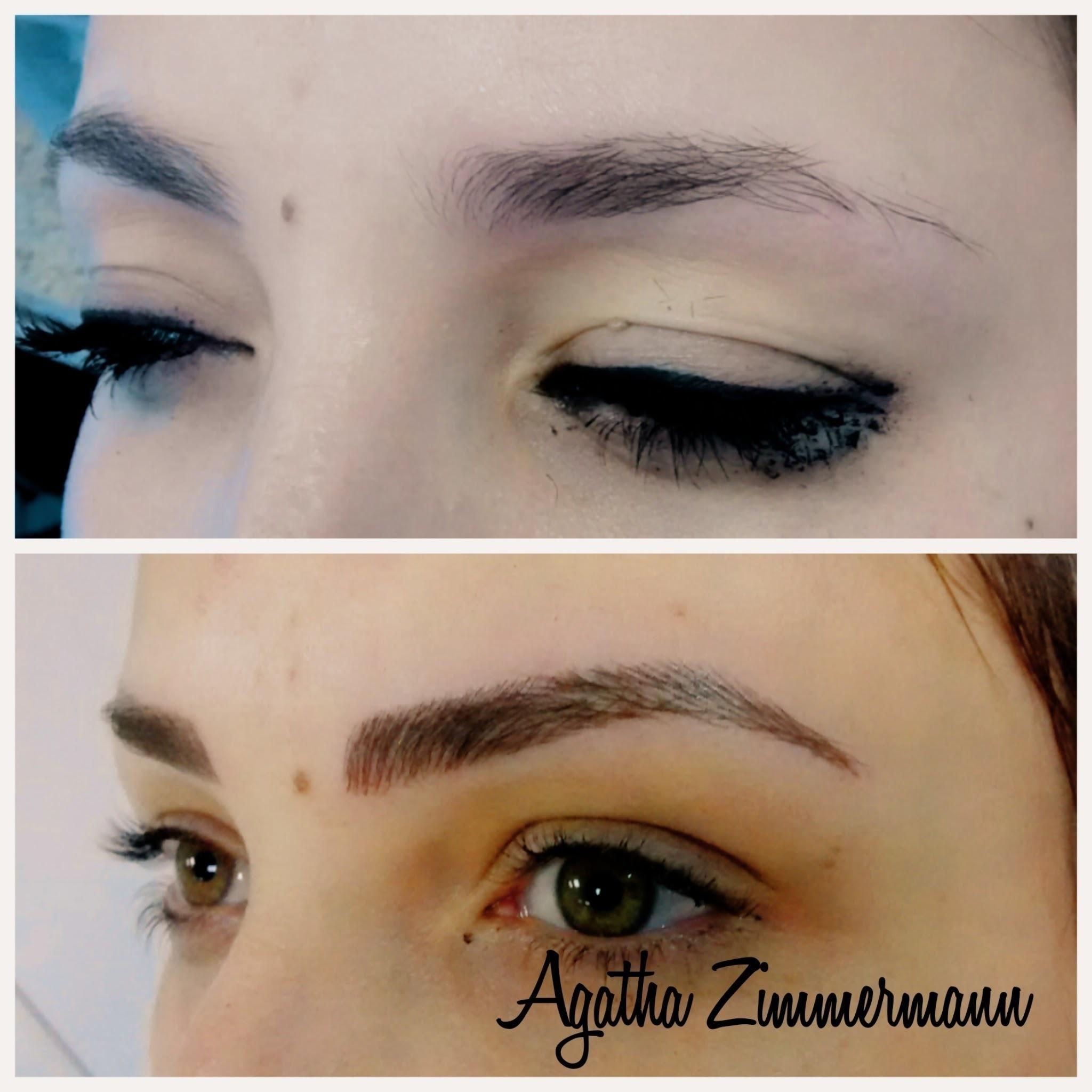 #microblading#antesedepois estética micropigmentador(a) maquiador(a) designer de sobrancelhas
