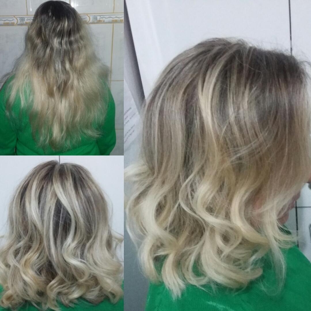 Uma super transformação da linda Amanda Oliveira . Do longo, para o curto . E ela está amando gente !! E esse loiro bafônico ????? Lindo de maiiiiiiis cabelo cabeleireiro(a) maquiador(a)