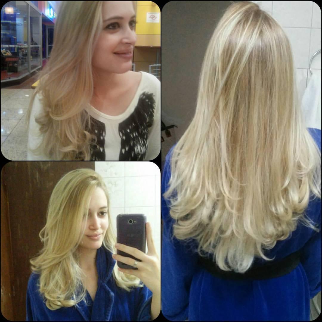 O loiro dos sonhos #Luzes #Corte #Blondie By : Gabriel Russo  cabelo auxiliar cabeleireiro(a) escovista recepcionista
