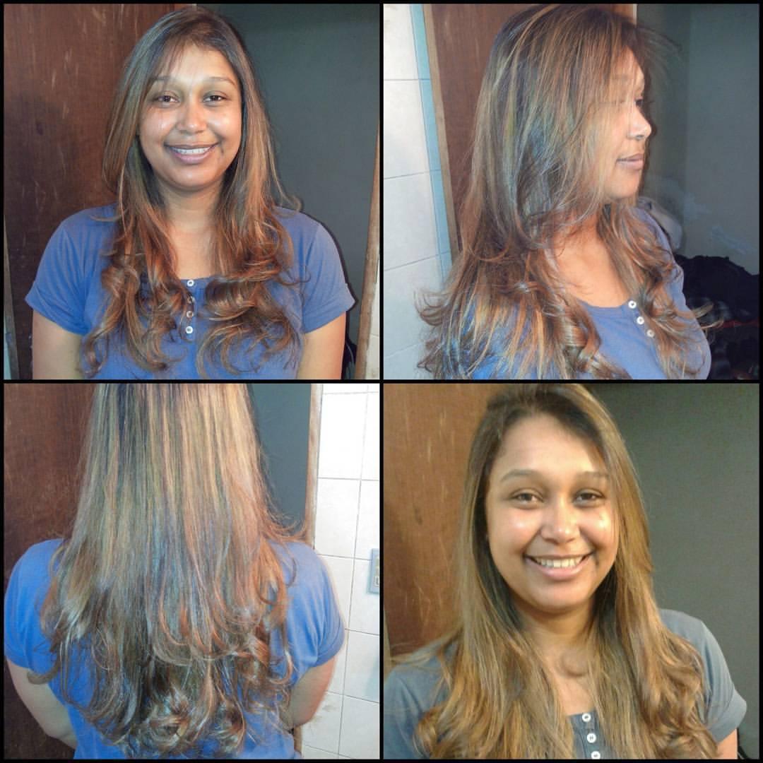 Morena Iluminada #OmbreHair #Escova cabelo auxiliar cabeleireiro(a) escovista recepcionista