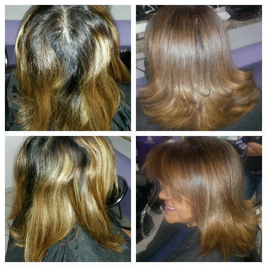 Cobertura de Raiz cabelo auxiliar cabeleireiro(a)