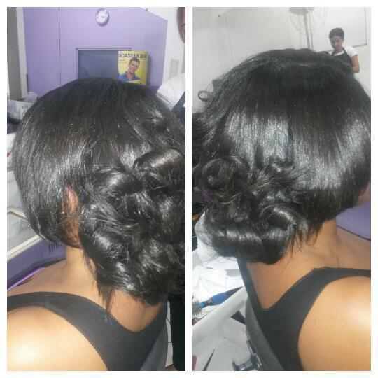 Relaxamento cabelo auxiliar cabeleireiro(a)