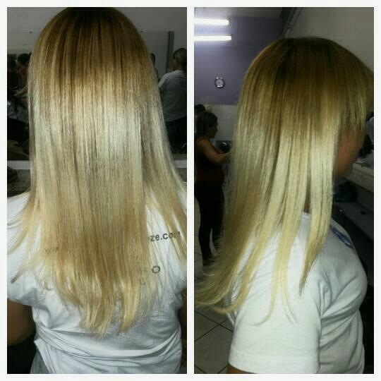 Reconstrução cabelo auxiliar cabeleireiro(a)
