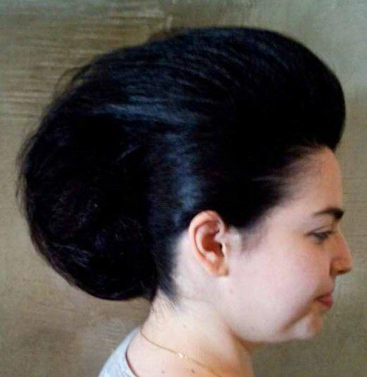 Penteado moicano cabelo cabeleireiro(a) maquiador(a)