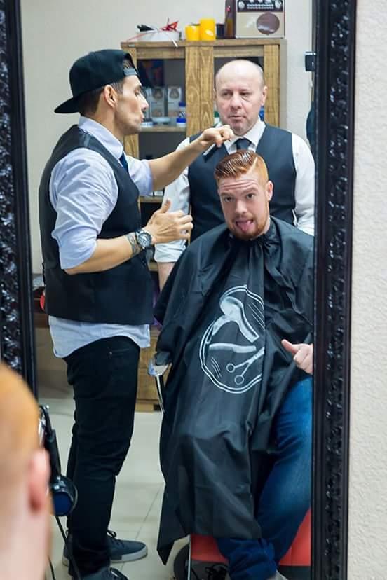 Relaxamento  cabelo barbeiro(a)
