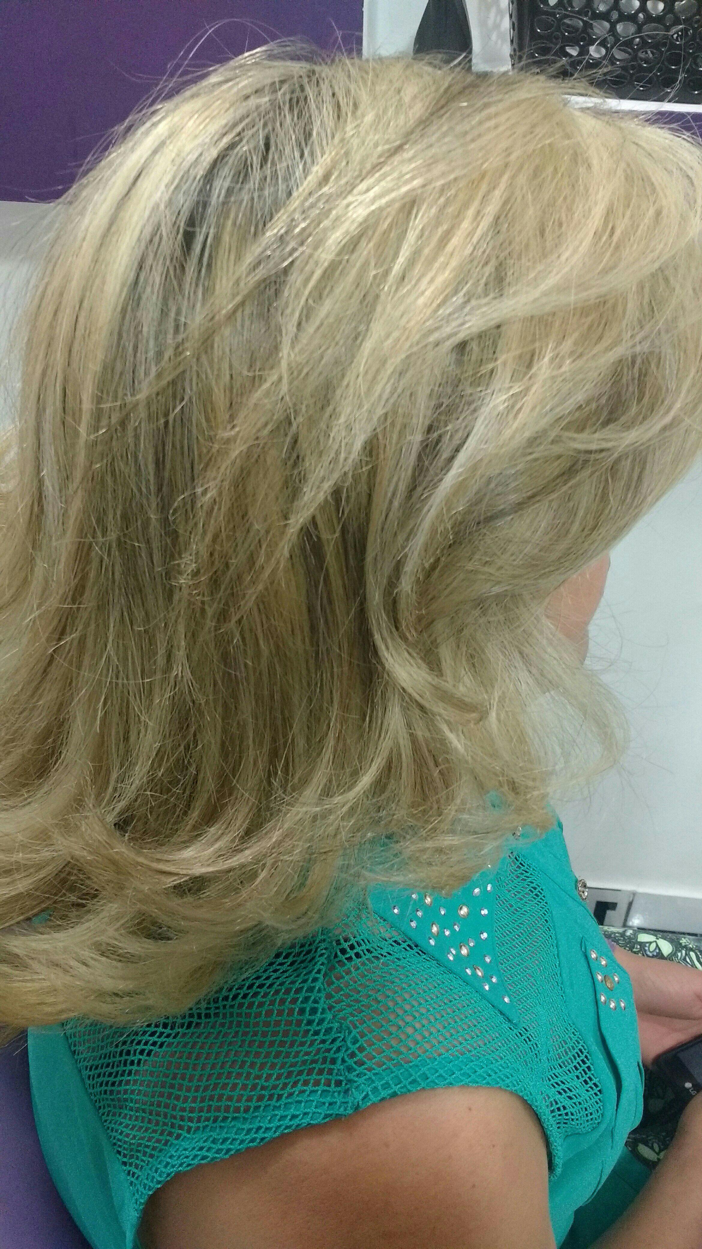 luzes, progressiva e escova cabelo cabeleireiro(a)