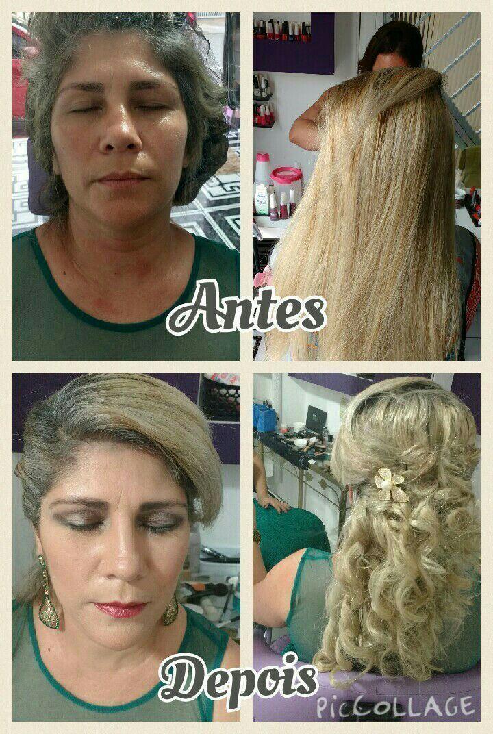 Penteado e Maquiagem cabelo cabeleireiro(a)