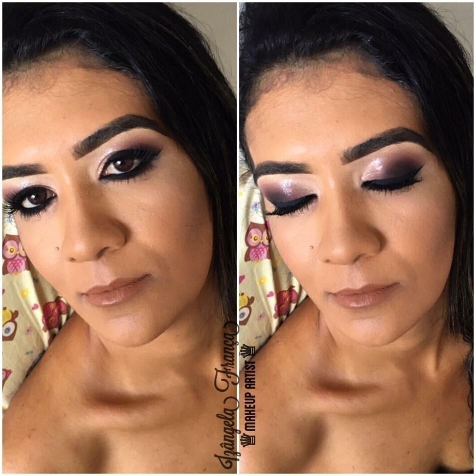 #Maquiagem #Esfumado estética maquiador(a)